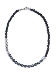 Masai Adina Shantung Viscose Necklace BWSk6ECQ