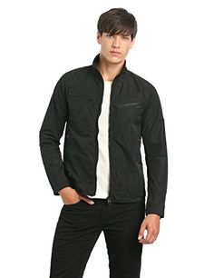 G-Star Raw Men's New Arc 3D Slim Fit Jacket In Carbourne Nylon, Black, Large G-Star Raw ++You can get best price to buy this with big discount just for you.++