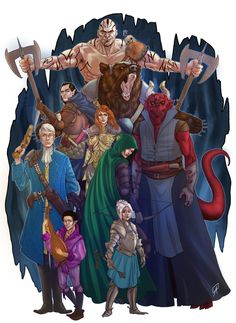 Bring Your Pens to Battle: Critical Role Fan Art Gallery | Geek and Sundry