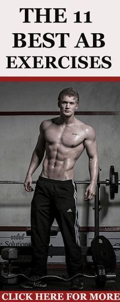 Here are 11 of the best ab exercises that will give you a six-pack in no-time…