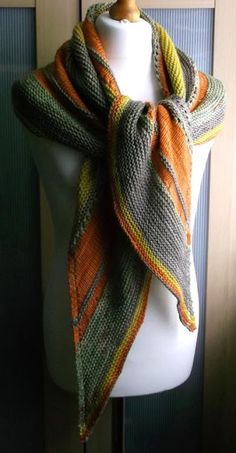 knitted shawl - great for fall