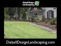 Landscape design in Aiken SC by Dalzell Design landscaping. Call now for your free consultation.