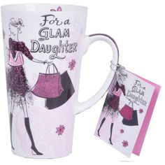 Mug For Daughter. Rs.424 : Shop Now : http://hallmarkcards.co.in/collections/daughters-day-2015/products/mug-for-daughter