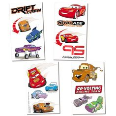 Find disney cars and friends temporary tattoos at Birthday Direct Disney Cars Party, Disney Cars Birthday, Cars Birthday Parties, Cars Party Favors, H Tattoo, Car Tattoos, Birthday Supplies, Racing Team, Picture Tattoos