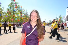 Join In blog - We met 21-year-old Julia from Pocklington in Yorkshire at Go Local, our celebration of volunteering held in Queen Elizabeth Olympic Park in July. One year on from volunteering at the Aquatics Centre at the London 2012 Paralympic Games she tells us how she juggles a busy university course with volunteering at a local children's hospice.