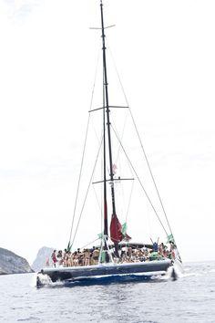 Ibiza Experience by Heineken 2014 Ibiza, Moon Party, Ushuaia, Love Is In The Air, Catamaran, Beach Club, Sailing Ships, Tower, Boat