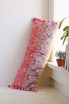 Plum & Bow Pila Kantha Pillow - Urban Outfitters