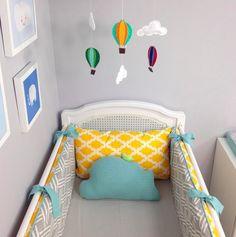 my fav color combo so far! Baby Boy Rooms, Baby Bedroom, Baby Boy Nurseries, Nursery Room, Kids Bedroom, E Room, Baby Bedding Sets, Nursery Neutral, Baby Decor