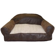 Leather Sofa Dog Bed - I hope this will keep my dogs off of my leather sofa!  $32.95
