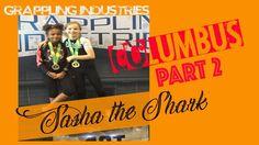 """Jiu Jitsu girl Sasha the Shark in action at Grappling Industries Columbus Sasha the Shark's no gi matches from Grappling Industries Columbus. ------ Please watch: """"KIDS JIU JITSU Two Girls in a Great BJJ Match"""" https://www.youtube.com/watch?v=LFK_Fj3cRnM ------"""