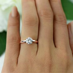 A gemstone solitaire may be the essential diamond engagement ring. Although other diamond engagement ring settings fall and rise in recognition, a solitaire ring is really a classic with constant, … Wedding Rings Simple, Wedding Rings Solitaire, Bridal Rings, Unique Rings, Beautiful Rings, Simple Rings, Halo Rings, Engagement Ring Settings, Vintage Engagement Rings