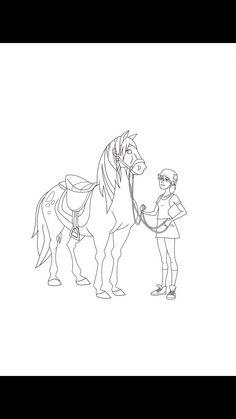 Ausmalbilder Pferde Lenas Ranch Mal-und Bastelideen