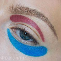 """✌️#dausell #eotd #eyelook #eyeart #eyemakeup #eyeshadow #eyeliner #motd #makeup #smink #sminke #mua #makeupartist #makeupartistsworldwide @muastars…"""