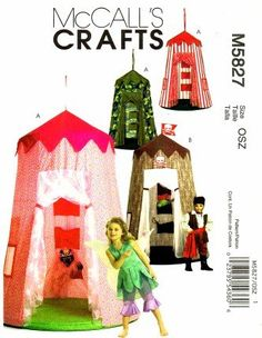 Amazon.com: McCall's Patterns M5827 Play Canopy, One Size Only: Arts, Crafts & Sewing