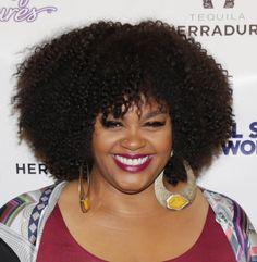 Gorgeous Natural Hairstyles on Black Women: Jill Scott