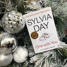 One With You #CrossfireSeries Crossfire Series, Sylvia Day, Are You The One, Christmas Bulbs, Photo And Video, Holiday Decor, Books, Inspiration, Instagram