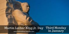 Not only is today #MartinLutherKingJrDay but it is always a very good idea to refresh ones memory of his life and legacy, not just as he is represented today by some.
