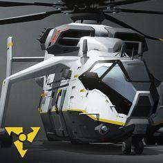 CDA Skycrane concept for Dirty Bomb by Splash Damage and Nexon.  http://dirtybomb.nexon.net/