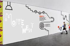 品牌墙/文化墙 设计参考 来自意匠id - 微博