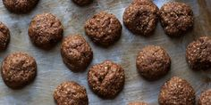 Chocolate Almond Cookies (Strazzate)