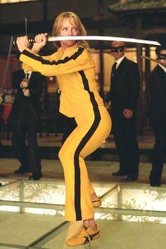 """kill Bill: Vol. 1 (us Aka ;quentin Tarantino's Kill Bill: Volume One ; Uma Thurman Picture From The Ronald Grant Archive Kill Bill: Vol. 1 (us Aka """"quentin Tarantino's Kill Bill: Volume One"""" Aka """"kill Bill: [. Female Movie Characters, Movie Character Costumes, Iconic Characters, Movie Costumes, Quentin Tarantino, Famous Movies, Iconic Movies, Good Movies, Cult Movies"
