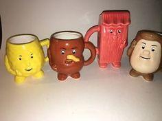Actos QD Pharmaceutical  Coffee Cup Mug 12oz Prescription Drug Ad Lot Of 4  | eBay