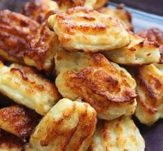Cauliflower Tater Tots. Sounds like a delicious, healthy side dish! by Stormdreamer