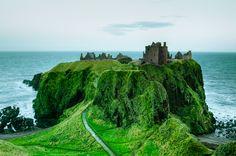 Dunnottar Castle, Scotland...
