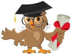 One owl diploma Royalty Free Vector Image - VectorStock Free Vector Images, Vector Free, Flower Doodles, Scrapbook Embellishments, Owl Art, Graduation Gifts, Adobe Illustrator, Clip Art, Illustration