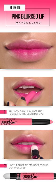 Here's an insider tip on a matte lip that breaks all the rules. Gather your girl gang and get ready to blur the lines with Maybelline Color Blur in 'Fast & Fuchsia'. Just apply color to the center of your lips with the matte pencil end, then gently blur outward with the smudger end. Done! Best part? You can shop this makeup product right now on Amazon.