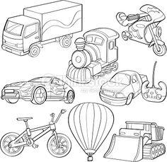 오토바이 드로잉 - Google 검색