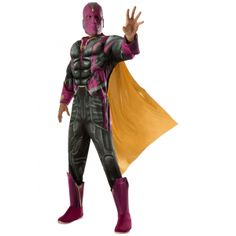 Adult Deluxe Vision Avengers 2 Costume  #Adult #AdultCostume #Avengers #Costume #Deluxe #Vision Halloween Spirit