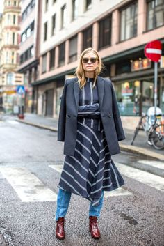 32 chic outfit ideas to try from the best street style at Oslo Fashion Week: