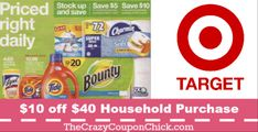 – Welcome The Crazy Coupon Chick Fans Target Deals, 10 Off, Household, Coupon, Coupons