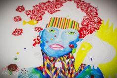 Aquarela e canetas sobre canson por Ju Rossi