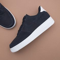 half off dfe55 448ee Nike Air Force 1 07 Suede - AO3835-001 •• En svart i suede, aldrig fel,  alltid rätt.  nike  airforce1  footish • link in bio •