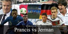 JERMAN VS PRANCIS – Agen Poker Indonesia – Timnas  Prancismemesan satu tempat di semi final Euro 2016 untuk melawan Jerman di Stade Velodrome di Marseille pada Kamis malam. Jerman lolos ke semifinal berdasarkan adu penalti melawan Italia yang dikelola oleh Antonio Conte. Ada sedikit carauntuk memilih antara sisi dalam urusan yang sangat taktis yang berakhir 1-1 setelah 120 menit dari waktu normal sepak bola.