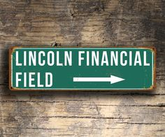 Lincoln Financial Field Stadium Sign http://www.classicmetalsigns.com/product/lincoln-financial-field-stadium-sign/