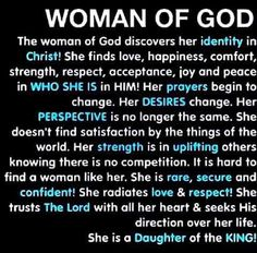 Woman of God, the Bible is still being written so submit fully to becoming an instrument of His perfect Will. It's true! Prayer Quotes, Faith Quotes, Spiritual Quotes, Bible Quotes, Godly Women Quotes, Quotes Quotes, Quotes French, Identity In Christ, True Identity