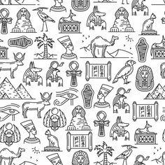 Egyptian Symbols, Mayan Symbols, Viking Symbols, Viking Runes, Ancient Symbols, Egyptian Drawings, Ancient Tattoo, Faith Tattoo On Wrist, Egypt Tattoo