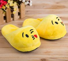 Features:  -Wear-resisting.  -Wear your favorite character on your feet.  -Skid resistant.  Color: -Yellow.  Product Type: -Slipper.  Gender: -Neutral.  Pattern: -Novelty.  Life Stage: -Adult/Teen. Di