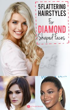 Vintage Hairstyles For Prom 30 Stunning Hairstyles For Diamond Faces - Chiseled! Now that's a word that describes a diamond-shaped face perfectly. If you have this face shape, you have something in common with gorgeous women like Tyra Banks Diamond Shaped Face Haircut, Haircut For Face Shape, Diamond Face Shape, Face Shape Hairstyles, Hairstyles Haircuts, Vintage Hairstyles, Cool Hairstyles, Diamond Shaped Faces, Diamond Shaped Face Hairstyles