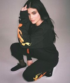 I really do like this flamed sweatsuit , not gonna lie..