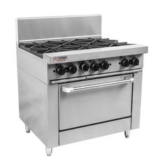 Commercial Cooking Equipment, Commercial Ovens, Australian Restaurant, Stainless Steel Oven, Gas Oven, Catering Equipment, Oven Range, Kitchen Appliances, Diy Kitchen Appliances