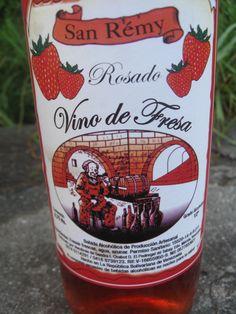 Vino artesanal de Fresa (Venezuela)