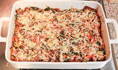 Polenta Vegetable Bake