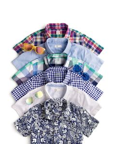 Crewcuts button-downs he can get down with. Classic yet special shirts—in soft Secret Wash cotton and wrinkle-free oxford cloth—all with major hand-me-down potential.