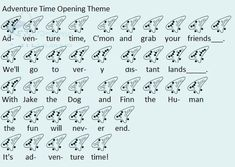Adventure Time Opening Theme for ocarina. Ocarina Tabs, Ocarina Music, Adventure Time Theme Song, Easy Sheet Music, Music Sheets, Ocarina Instrument, Secret World Of Arrietty, Ocarina Of Times, Native American Flute