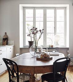 wabi sabi dining room. / sfgirlbybay
