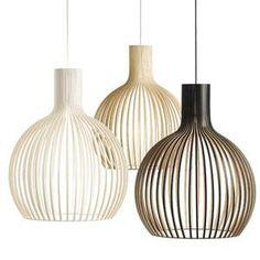 Secto Design OCTO - Lámpara de techo Madera Blanco